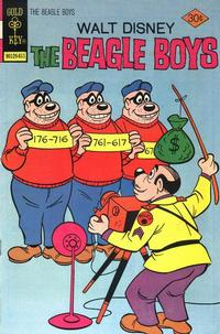 Cover Thumbnail for Walt Disney The Beagle Boys (Western, 1964 series) #32 [Gold Key]