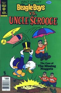 Cover Thumbnail for Walt Disney The Beagle Boys versus Uncle Scrooge (Western, 1979 series) #1 [Gold Key]