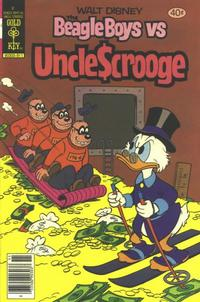 Cover Thumbnail for Walt Disney The Beagle Boys versus Uncle Scrooge (Western, 1979 series) #9 [Gold Key]