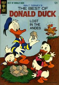Cover Thumbnail for Walt Disney's The Best of Donald Duck (Western, 1965 series) #1