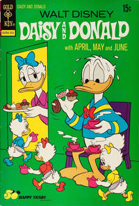 Cover Thumbnail for Walt Disney Daisy and Donald (Western, 1973 series) #1 [Gold Key]