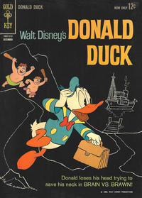 Cover Thumbnail for Donald Duck (Western, 1962 series) #85