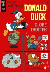Cover Thumbnail for Donald Duck (Western, 1962 series) #88
