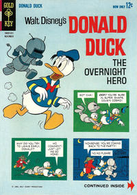 Cover Thumbnail for Donald Duck (Western, 1962 series) #91