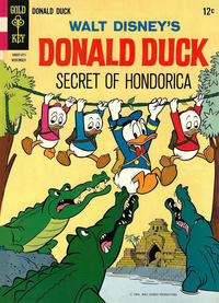 Cover Thumbnail for Donald Duck (Western, 1962 series) #98