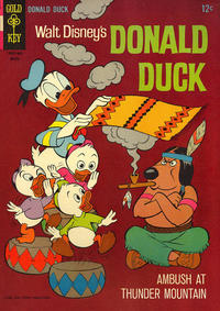 Cover Thumbnail for Donald Duck (Western, 1962 series) #106