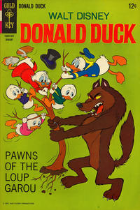 Cover Thumbnail for Donald Duck (Western, 1962 series) #117