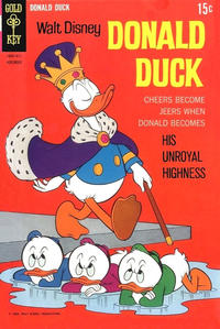 Cover Thumbnail for Donald Duck (Western, 1962 series) #122