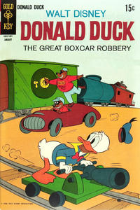 Cover Thumbnail for Donald Duck (Western, 1962 series) #123