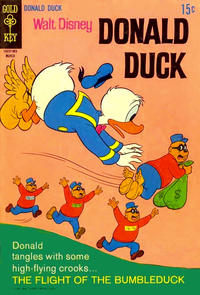 Cover Thumbnail for Donald Duck (Western, 1962 series) #124