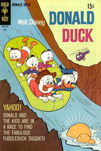 Cover Thumbnail for Donald Duck (Western, 1962 series) #125