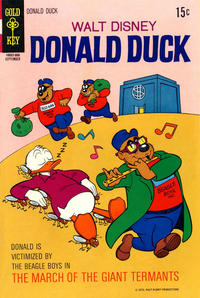 Cover Thumbnail for Donald Duck (Western, 1962 series) #133