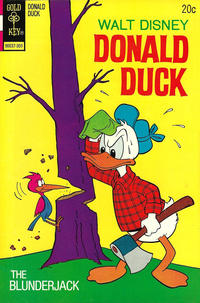 Cover Thumbnail for Donald Duck (Western, 1962 series) #151 [Gold Key Variant]