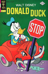 Cover Thumbnail for Donald Duck (Western, 1962 series) #164 [Gold Key]