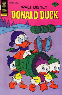 Cover Thumbnail for Donald Duck (Western, 1962 series) #181 [Gold Key]