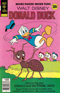 Cover Thumbnail for Donald Duck (Western, 1962 series) #192