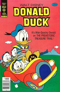 Cover Thumbnail for Donald Duck (Western, 1962 series) #195 [Gold Key]