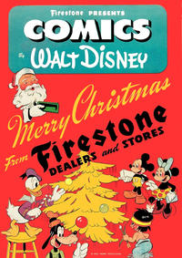 Cover Thumbnail for Donald and Mickey Merry Christmas (Dell, 1943 series) #1943