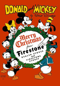 Cover Thumbnail for Donald and Mickey Merry Christmas (Dell, 1943 series) #1946