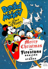 Cover Thumbnail for Donald and Mickey Merry Christmas (Dell, 1943 series) #1948