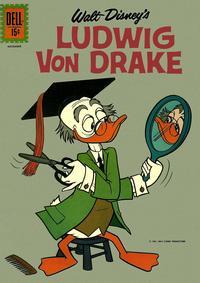 Cover Thumbnail for Walt Disney's Ludwig Von Drake (Dell, 1961 series) #1