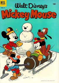 Cover Thumbnail for Mickey Mouse (Dell, 1952 series) #29