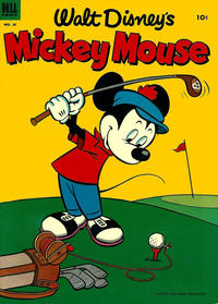 Cover Thumbnail for Walt Disney's Mickey Mouse (Dell, 1952 series) #30