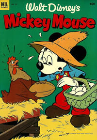 Cover Thumbnail for Walt Disney's Mickey Mouse (Dell, 1952 series) #32