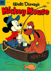 Cover for Mickey Mouse (Dell, 1952 series) #37