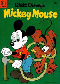 Cover Thumbnail for Mickey Mouse (Dell, 1952 series) #41