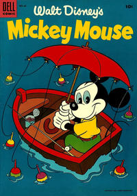 Cover Thumbnail for Mickey Mouse (Dell, 1952 series) #42
