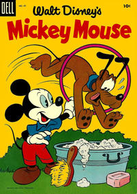 Cover Thumbnail for Mickey Mouse (Dell, 1952 series) #43