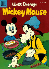 Cover Thumbnail for Walt Disney's Mickey Mouse (Dell, 1952 series) #46