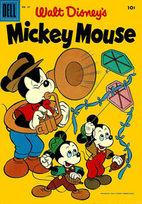 Cover Thumbnail for Walt Disney's Mickey Mouse (Dell, 1952 series) #47
