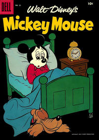 Cover Thumbnail for Mickey Mouse (Dell, 1952 series) #51