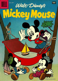 Cover Thumbnail for Mickey Mouse (Dell, 1952 series) #55
