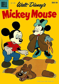 Cover Thumbnail for Mickey Mouse (Dell, 1952 series) #62