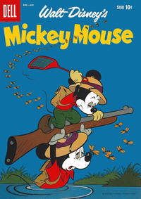 Cover Thumbnail for Walt Disney's Mickey Mouse (Dell, 1952 series) #63