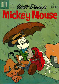 Cover Thumbnail for Mickey Mouse (Dell, 1952 series) #67