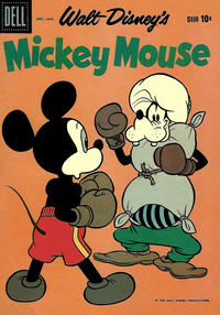 Cover Thumbnail for Mickey Mouse (Dell, 1952 series) #69