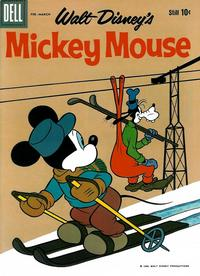 Cover Thumbnail for Walt Disney's Mickey Mouse (Dell, 1952 series) #70