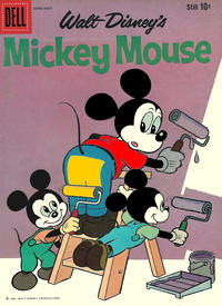 Cover Thumbnail for Mickey Mouse (Dell, 1952 series) #72