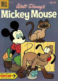 Cover Thumbnail for Mickey Mouse (Dell, 1952 series) #74
