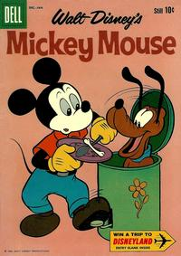 Cover Thumbnail for Mickey Mouse (Dell, 1952 series) #75