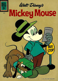 Cover Thumbnail for Mickey Mouse (Dell, 1952 series) #77