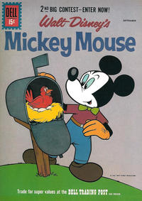 Cover Thumbnail for Mickey Mouse (Dell, 1952 series) #79