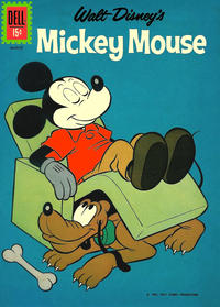 Cover Thumbnail for Mickey Mouse (Dell, 1952 series) #82