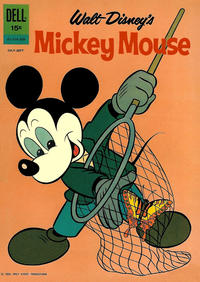 Cover Thumbnail for Mickey Mouse (Dell, 1952 series) #84