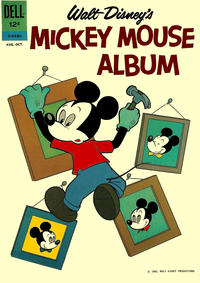 Cover Thumbnail for Walt Disney's Mickey Mouse Album (Dell, 1962 series) #01-518-210