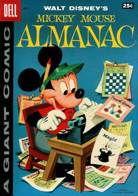 Cover Thumbnail for Mickey Mouse Almanac (Dell, 1957 series) #1